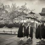 Priests at Zenkoji Temple, Nagano
