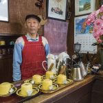 A former chef from Tokyo who now runs a coffee place in Shibu Onsen.